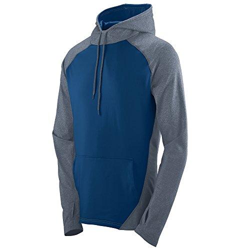 Augusta Sportswear Men's Zeal Hoodie M Graphite Heather/Navy