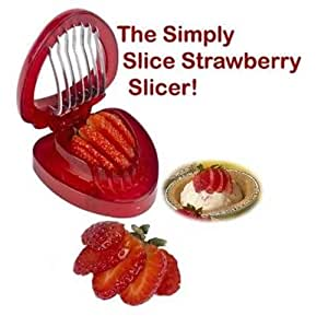 Strawberry Slicer Simply Slice - Kitchen Tools & Gadgets