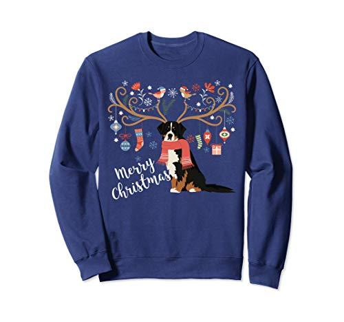- Bernese Mountain Dog Christmas Sweatshirt