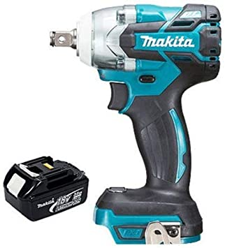 Makita DTW285Z 18V 1//2in Brushless Impact Wrench with 1 x 5.0Ah BL1850 Battery