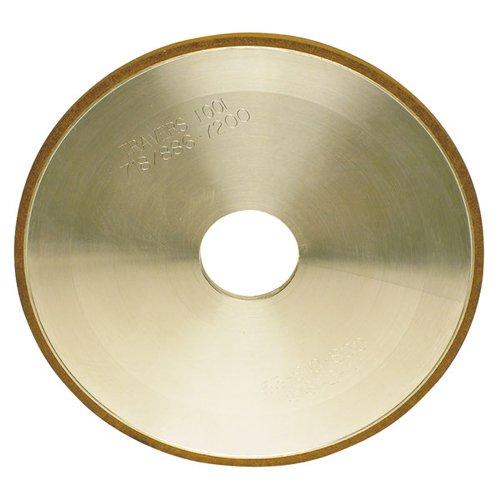 TTC Straight Style Diamond Wheel - WHEEL DIAMETER: 6'' WHEEL THICKNESS: 1/4'' Hole Diameter : 1-1/4'' Grit: 150 Grit Diamond Depth: 1/8''