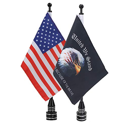 E-most Adjustable 6'x 9'American Flag + Flagpole Mount & 6""
