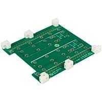 StarTech.com Dual 2.5-Inch to Single 3.5-Inch SATA Hard Drive Adapter SATA35252X - Green
