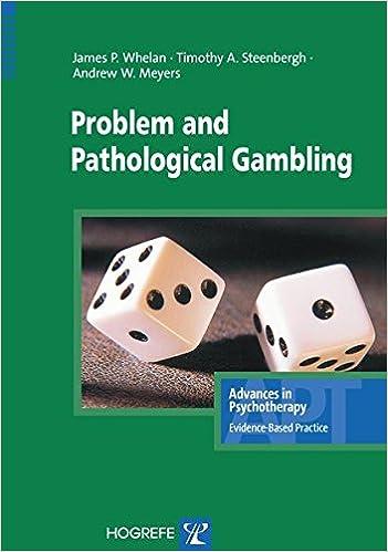 Evidence based treatment problem gambling casino live montreux