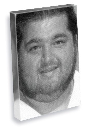 JORGE GARCIA - Canvas Print (A4 - Signed by the Artist) #js004