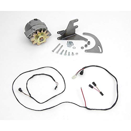 Eckler's Premier Quality Products 57-162283 Chevy Alternator Conversion Kit, Small Block Short Water Pump,