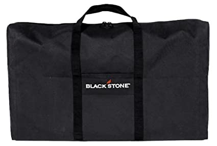 Black Blackstone Signature Griddle Accessories 600 D Polyester Tailgater Combo Carry Bag Set High Impact Resin