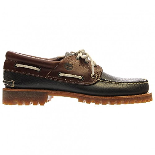 Timberland  Heritage 3-eye Classic Lug, Chaussures bateau homme - noir - Forged Iron Galera FG, Mittlere (M)|US 8.5|UK 8|EU 42
