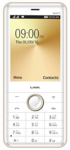 Lava Spark i7  White Gold