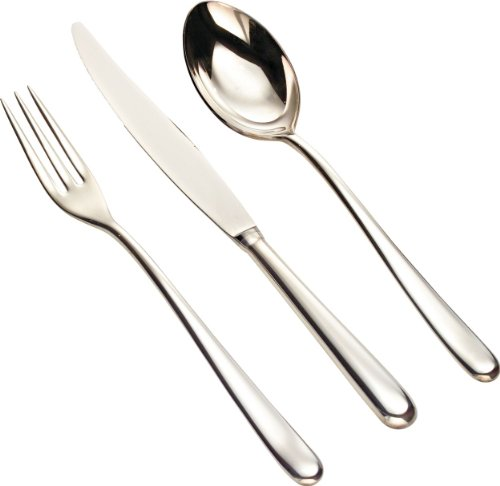 Alessi Caccia Flatware Set Of Twelve Table Spoons Table