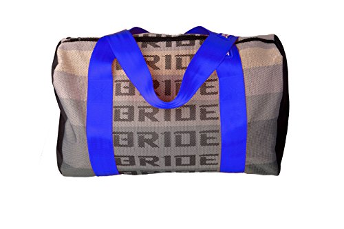 JDM Bride Racing Duffle Bag with Blue Spco
