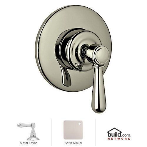 Rohl A3770LMSTNTO Country Bath Collection Verona 4-Port 3-Way Diverter Trim Only Lever Handle: (4 Port Diverter Rough)