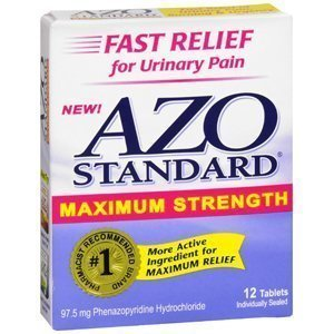 (AZO Standard Max Strength 12 Tablets)