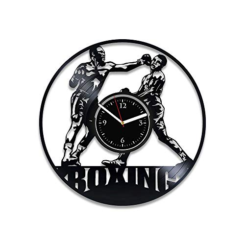 - RainbowClocks Boxing Vinyl Record Clock Boxing Wall Clock Vintage Boxing Clock Boxing Vinyl Wall Clock Boxing Gift For Man Boxing Gift For Him Boxing Xmas Gift Boxing Vinyl Clock Sport Gift