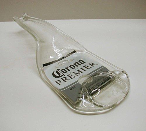 Melted Corona Premier Beer Bottle Kitchen Spoon Rest