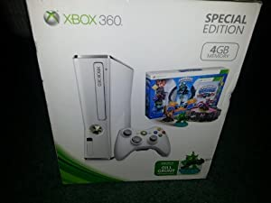 Amazon.com: Xbox 360 Slim White 4gb Skylanders Special ...