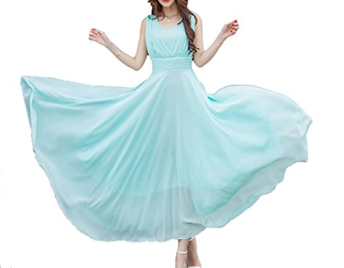 Buy light blue and green prom dresses - 2