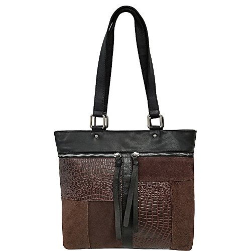 great-american-leatherworks-mixed-media-leather-tote-dark-brown-brown