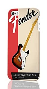 Fender All Things Rock N Roll Custom Diy Unique Image Durable 3D Case Iphone 4 4S Hard Case Cover