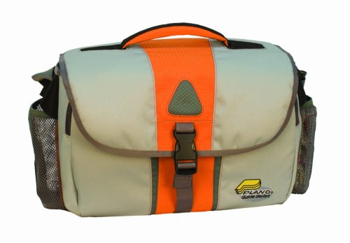 Plano Guide Series Soft Satchel with Two 3750 Stowaways and One 3650 Stowaways (Orange/Grey)