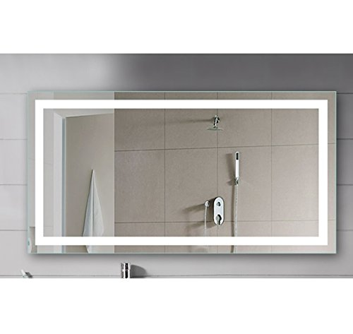 Vanity Lighted Mirror Wall Mount Dressing Room With Led Lights 48 X 24 Buy Online In Uae