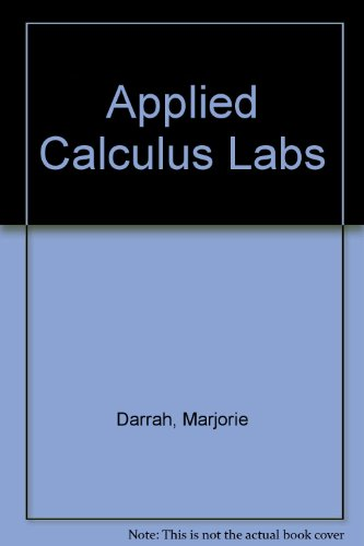 Applied Calculus Labs