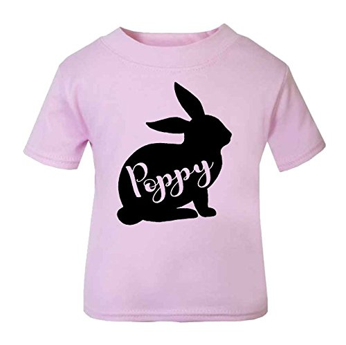 244eacd5b54 Personalised Name in Bunny Easter Tops Girls Easter Tops Boys Easter ...