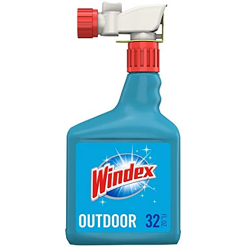 Windex Outdoor Sprayer, Blue Bottle, 32 fl oz (2 Pack) - Brand New and Fast Shipping ()