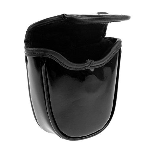 適合断片ストレスHomyl スカル ゴルフ マレット パター ヘッドカバー プロテクター バッグ&マグネット クロージャー 全4色