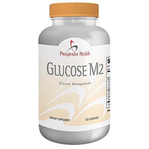 Glucose M2: Blood Sugar Formula, 1 Month Supply Diabetic Support Formula 60 Tablets