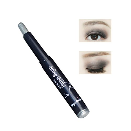 Eyeshadow Pencil, Fheaven Big Highlighter Eyes Shimmer Eye Shadow Stick Jumbo Eye Shadow Eye Liner Penci (B)