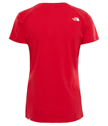 Tee Easy T The Face Tnf s Red S Donna North shirt W FqxYXgOx