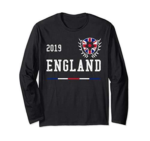 England Football Jersey 2019 English Soccer Long Sleeve