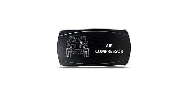 CH4 X 4 Compresor de aire interruptor símbolo - horizontal: Amazon.es: Coche y moto