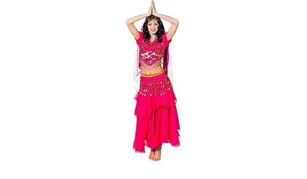Amakando Traje Bollywood - Fucsia | Disfraz de Mil y Una Noches ...