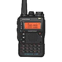 Zastone UV-8DR Walkie Talkie 128 Memory Channels 5W U/V Band Two-way Radio