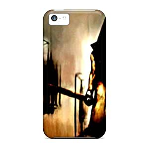 Tpu Cynthaskey Shockproof Scratcheproof Silent Hill 2 Pyramid Head Hard Case Cover For Iphone 5c by lolosakes