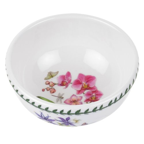 Botanic Garden Fruit Bowl - Portmeirion Exotic Botanic Garden Individual Fruit Salad Bowl with Orchid