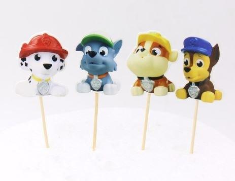 Paw Patrol Assorted Cupcake Picks Set of 12
