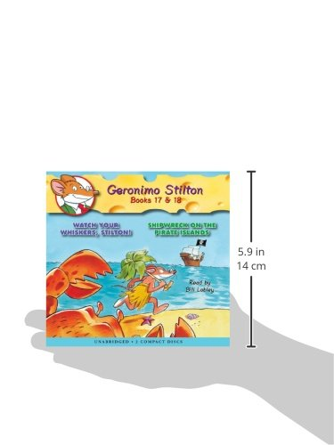 Geronimo stilton 17 18 audio library edition geronimo stilton geronimo stilton 17 18 audio library edition geronimo stilton 9780545138635 amazon books fandeluxe