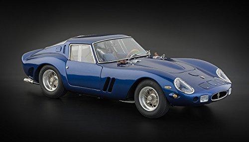 1962 Ferrari 250 GTO in Blue Diecast car model by CMC in 1:
