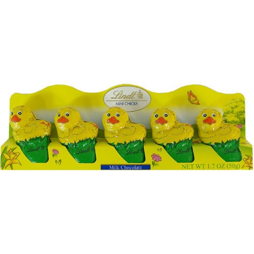 Baby Chicks Lindt Chocolate Mini Chicks for Easter
