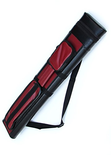 Best Buy! 2x2 Hard Pool Cue Billiard Stick Carrying Case, (Several Colors Available)
