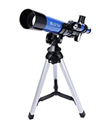 MaxUSee Kids Telescope 400x40mm with Tri...