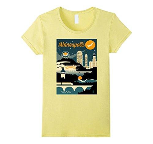 Travel Poster Minneapolis Shirt America