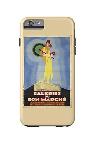 galeries-du-bon-marche-vintage-poster-belgium-c-1929-iphone-6-plus-cell-phone-case-cell-phone-case-t