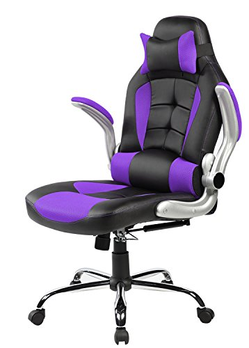 Merax High Back Ergonomic Pu Leather Office Chair Racing