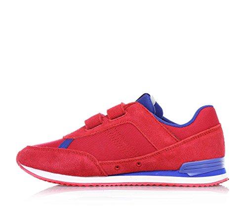 COLMAR - Rote Schuhe aus Wildleder und Stoff, mit Klettverschluss, Jungen-29:  Amazon.de: Schuhe & Handtaschen