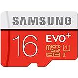 Samsung MB-MC16DA/EU Evo Memoria RAM da 16 GB, Adattore SD