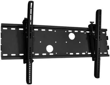 Black Tilting Wall Mount Bracket for Panasonic TH-42PWD7UY Plasma 42 inch HDTV TV